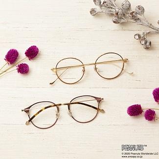 スヌーピーメガネの画像