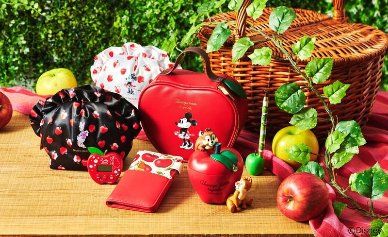 旬を感じる秋らしいアイテムが登場。りんごをモチーフにしたアイテムを10/20(火)より続々発売
