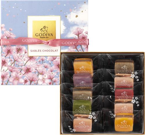 サブレショコラ 桜 (10個入)¥3240(税込み)(本体価格¥3000)