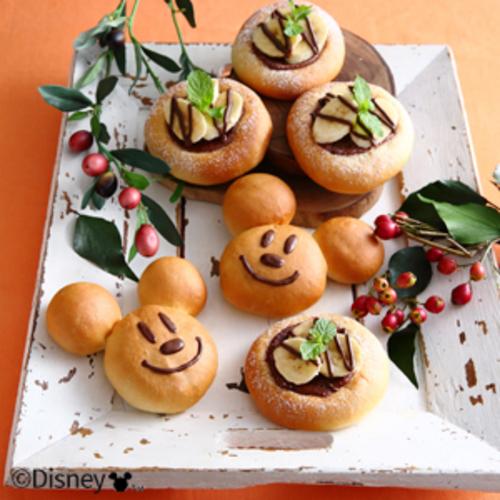 ミッキーマウス/チョコクリームパン